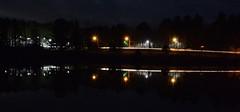 Lights Over The Pond