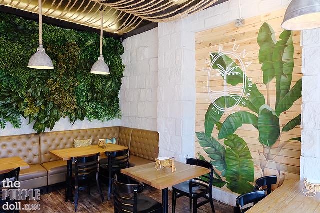 Isla Una Casual Filipino Dining Interior