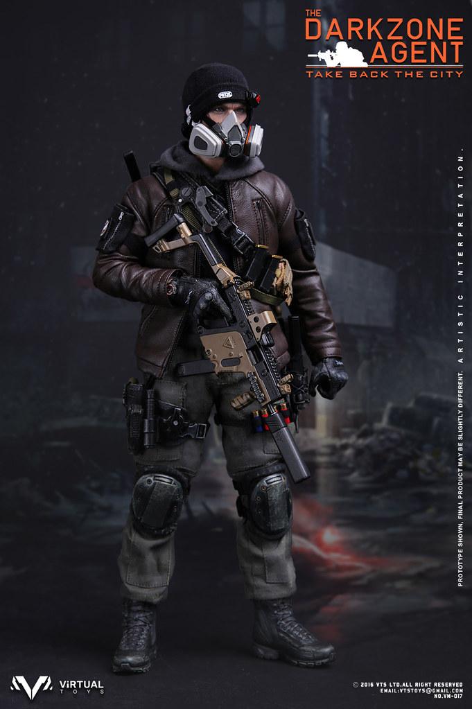 你去拯救紐約了嗎?!VTS Toys - 1/6 比例暗區特工 The Darkzone Agent