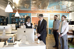U.S. Department of the Treasury: Secretary Jack Lew visited The Knotty Tie Co. in Denver, Colorado for a tour and conversation with business owners on January 5, 2016. (Tuesday Jan 5, 2016, 5:47 PM)
