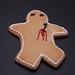 Dead Gingerbread man :-( by Adrian.Stewart