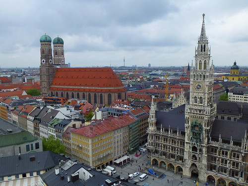 Munich As Seen From St. Peter's Church
