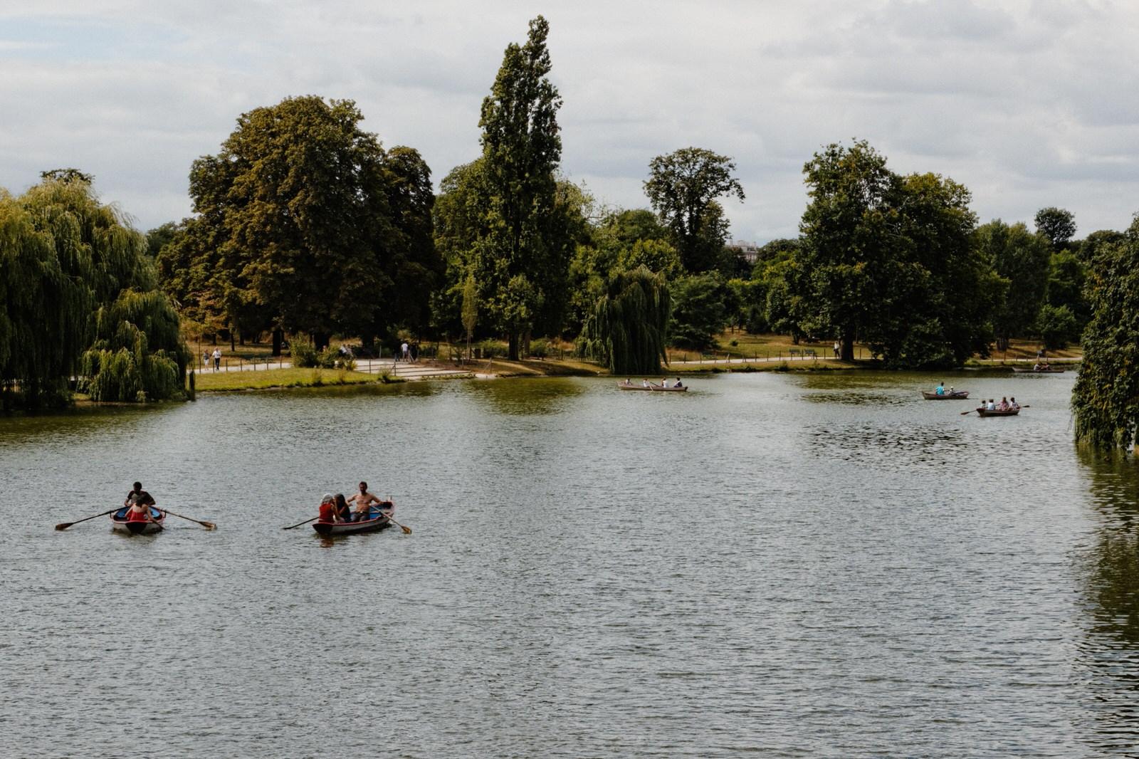 Lake at Bois de Vincennes, Paris