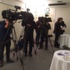 Media types ready for launch of Scotland Stronger In Europe