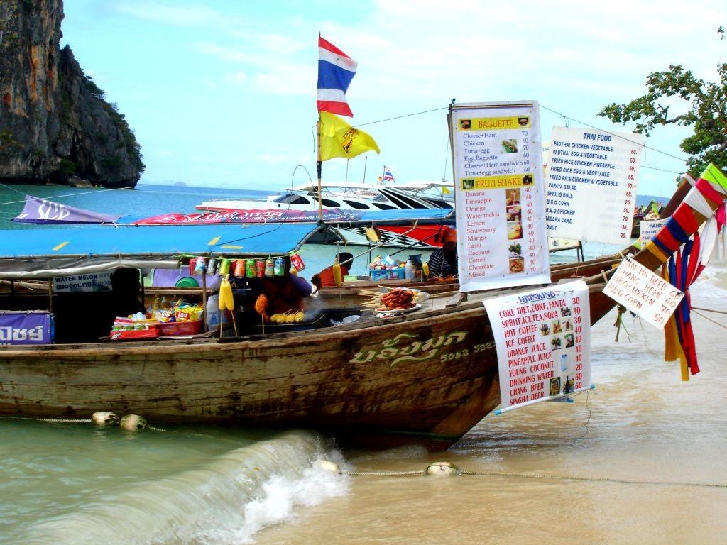 Krabi Beach Vendor, Thailand