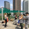 Tour of the @nistschool roof garden by @toscakilloran #eduroccc