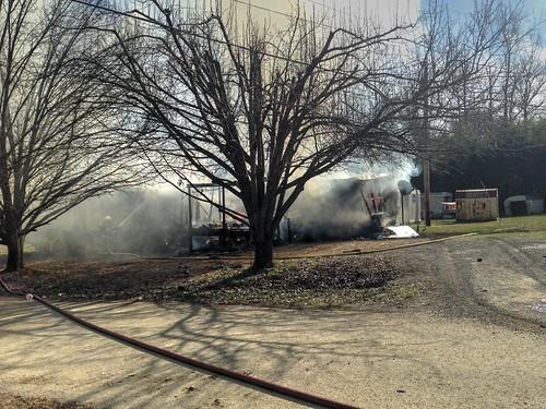 Garden City Fire Destroys Home, Melts Car, Displaces Family