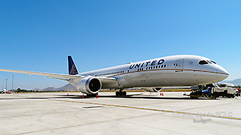 United B787-9 SCL (RD)