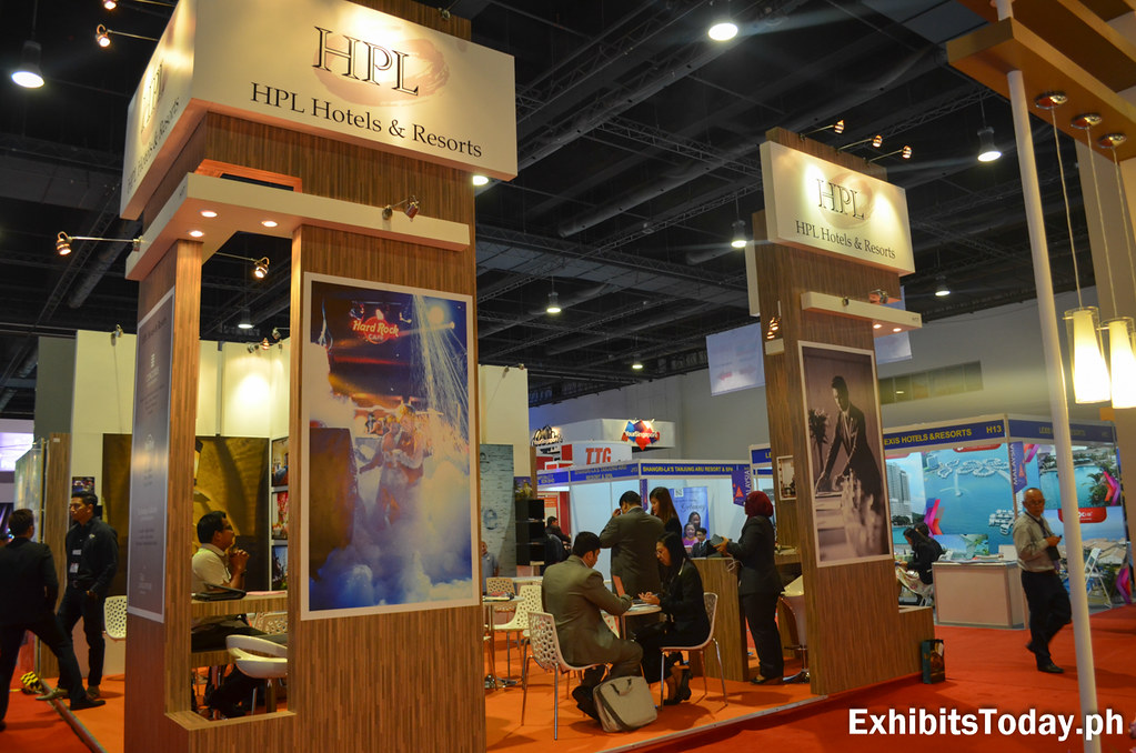 HPL Hotels & Resorts Exhibit Booth