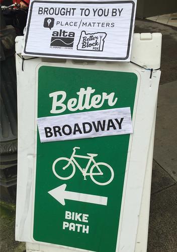Pop-up bikeway on SW Broadway-4.jpg