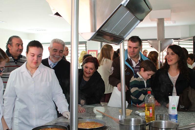 Paella y galletas con fundamento en la Semana de las ciencias 2016
