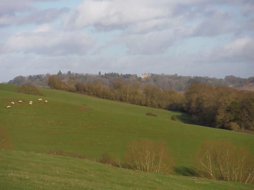 Waddesdon Manor, from Ashendon hillside