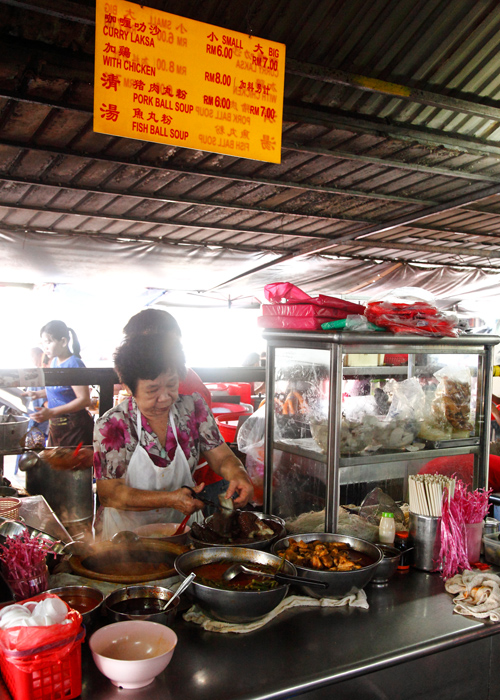 Madras Lane Curry Laksa Stall