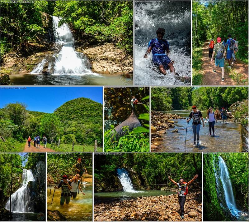 Cachoeiras do Paraíso da Vovó e Arroio Biriba + Trilha Muçum Ensaboado - Itaara RS 03
