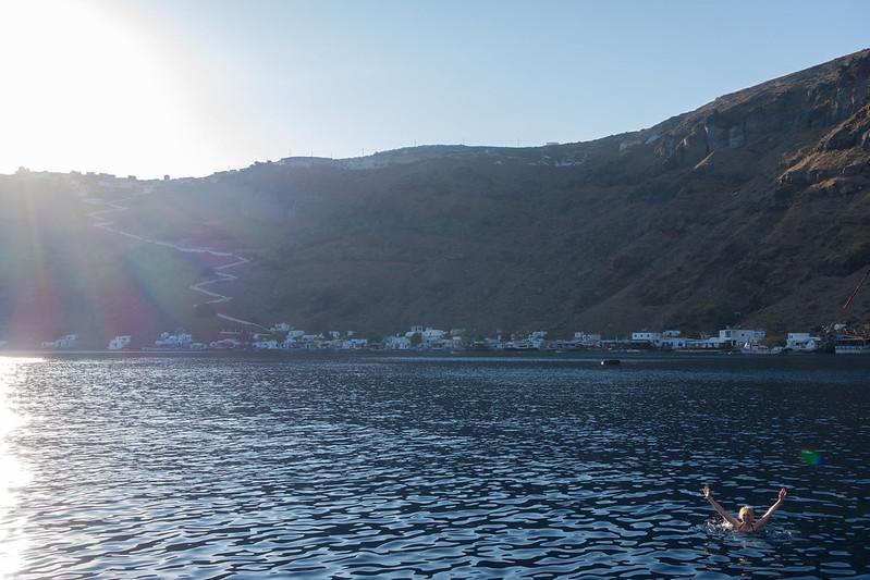 Santorini sunset cruise, 20 September 2015 151-1-2