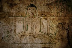 Unexpected beauty of a 12th century fresco in the Sulamani temple