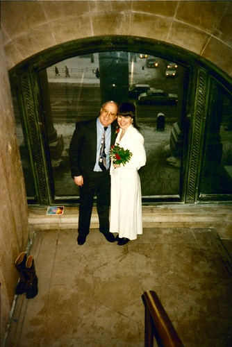 Peter Keepnews & Irene Trudel's Wedding Day 1996-02-16