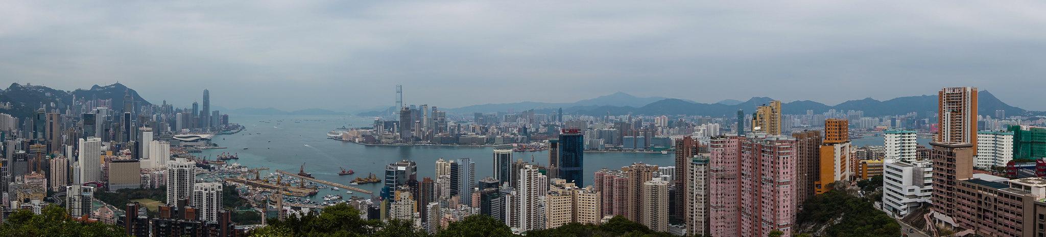 Hong Kong viajar preparativos - Panorámica de Hong Kong
