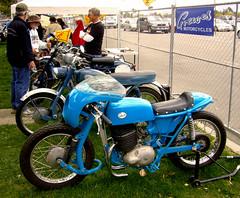 Greeves Racer at Scottish Festival in Orange County, California