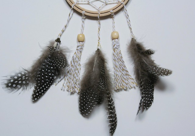Metallic Twine Dream Catcher | shirley shirley bo birley Blog