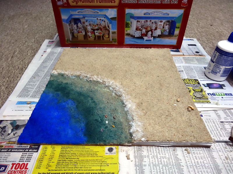 Sea diorama base 2