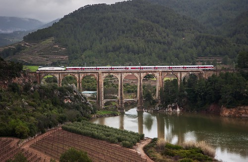 tarragona elpriorat catalántalgo railwaysphotography locomotora2520740 ramatalgoiii viaductodecapçanes fotogrfíaferroviaria