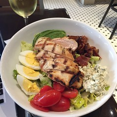 Cobb Salad at Perry's at SFO