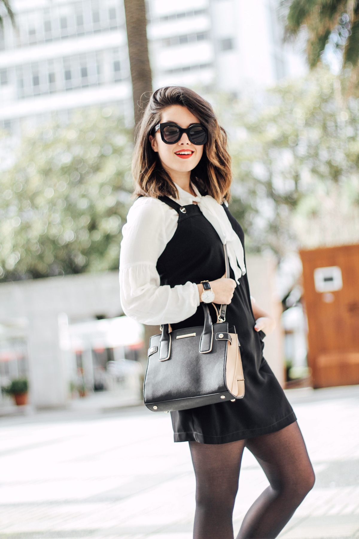 styleheroes-dorothy-perkins-pinafore-dress-baby-marta-celine-sunglasses-myblueberrynightsblog