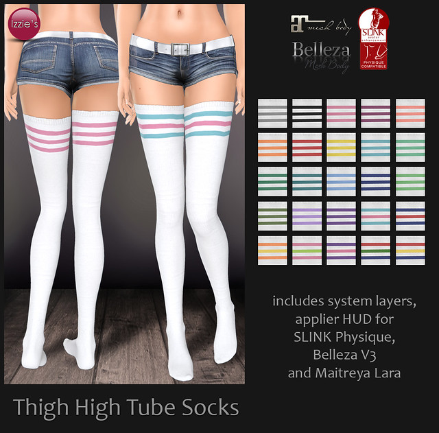 Thigh High Tube Socks for FLF