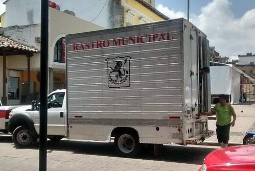 camioneta rastro