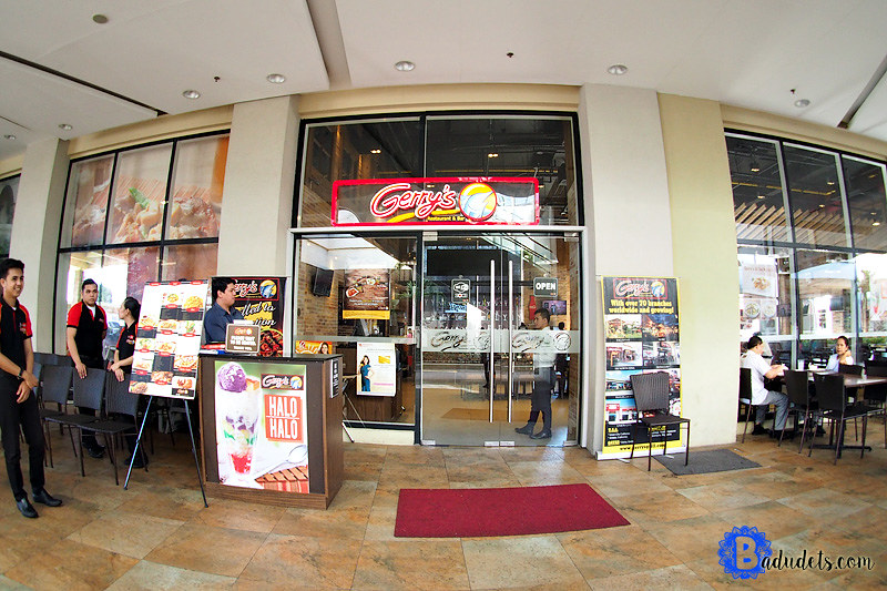 gerrys grill robinsons place antipolo
