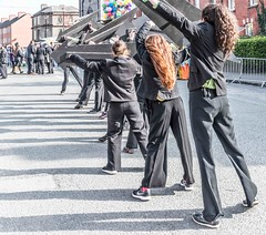 RANDOM BACK STAGE IMAGES [GETTING READY FOR THE 2016 PATRICK'S DAY PARADE IN DUBLIN]-112329