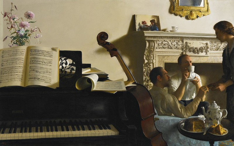 John Koch - Three musicians (1958)