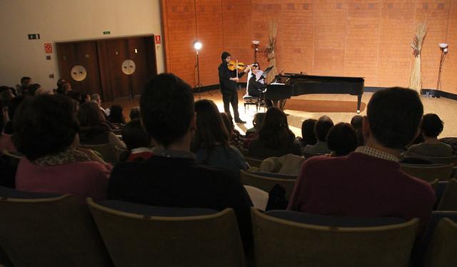 """ALBERT CORONADO, VIOLA & CARLOS MARÍN, PIANO - CICLO JUVENTUDES MUSICALES - AUDITORIO """"ÁNGEL BARJA"""" CONSERVATORIO DE LEÓN - 15.03.16"""
