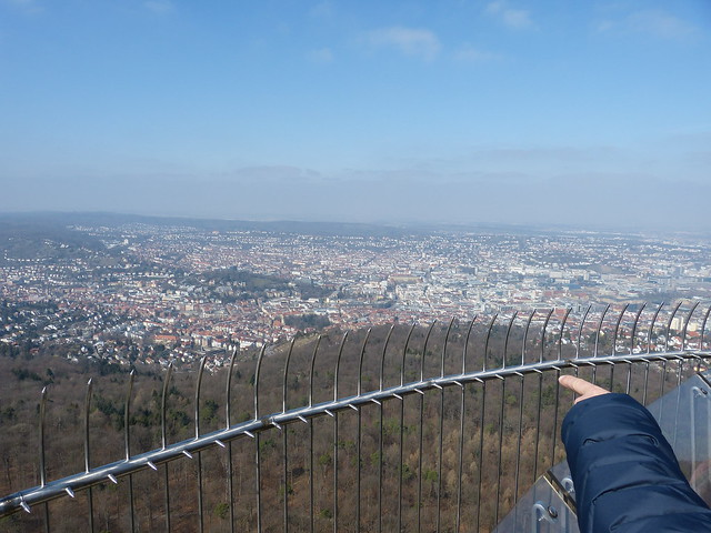On top of TV-Tower Stuttgart