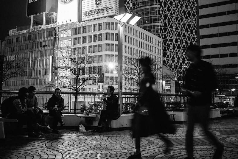 Street MTG at Shinjuku.
