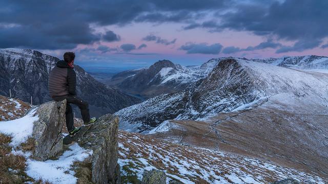 'A Perfedd Dusk' - Mynydd Perfedd, Snowdonia