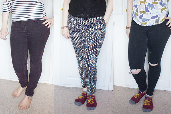Capsule wardrobe spring update trousers