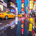 Rainy Times Square by NYC♥NYC