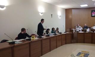 Carelli consiglio comunale aprile 2016