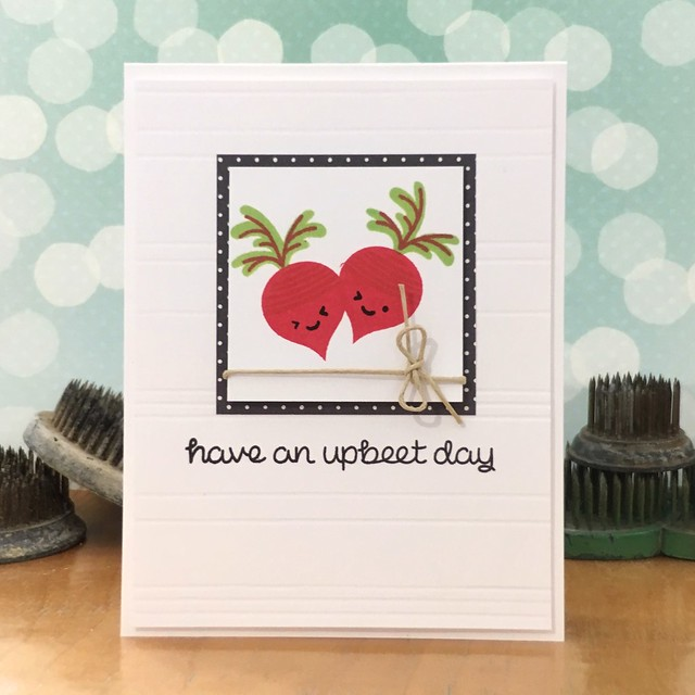 Have an Upbeet Day by Jennifer ingle #SimonSaysStamp #LawnFawn #Cards #cardmaking #diy
