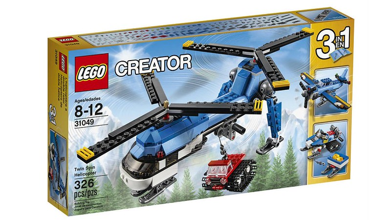 LEGO Creator Set 2016 - Twin Spin Helicopter (31049)