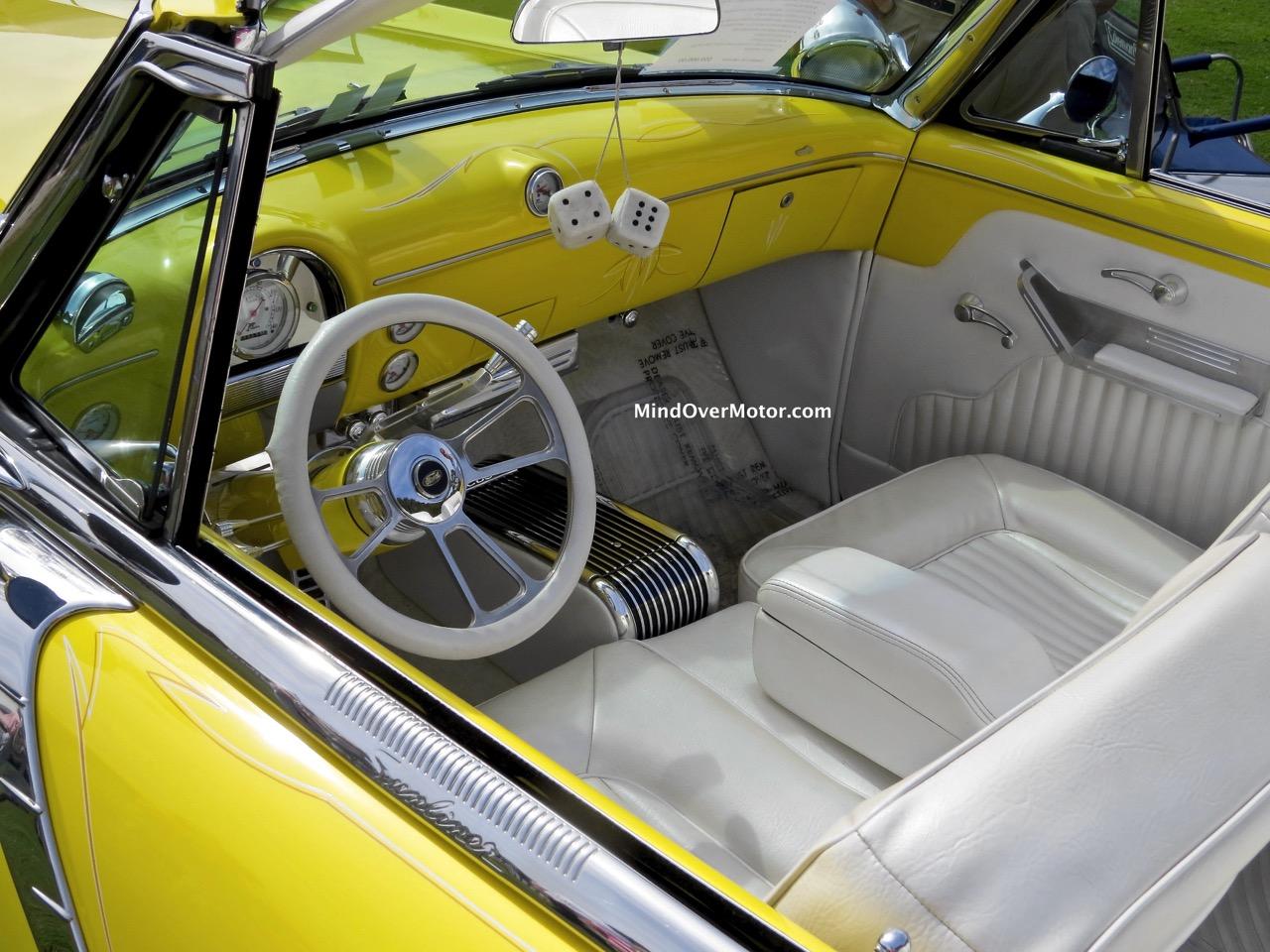 1954 Ford Sunliner Interior