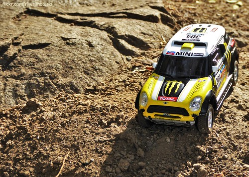 Ixo 1/43 MINI ALL4 Dakar 2014