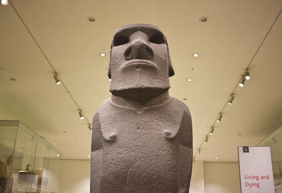 imhotep, easter island statue, easter island, british museum, britishmuseum, the british museum, british museum london, artifacts at british museum, london, museums in london, london museums, things to do in london
