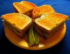 Walleye Salad Sandwiches