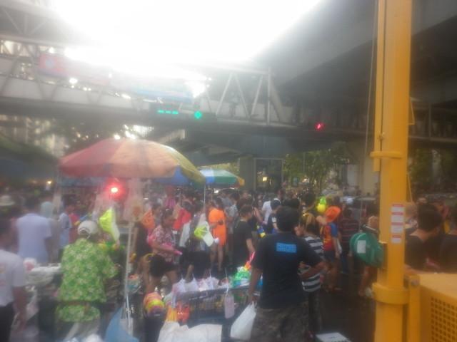 Songkran Bangkok Silom 4