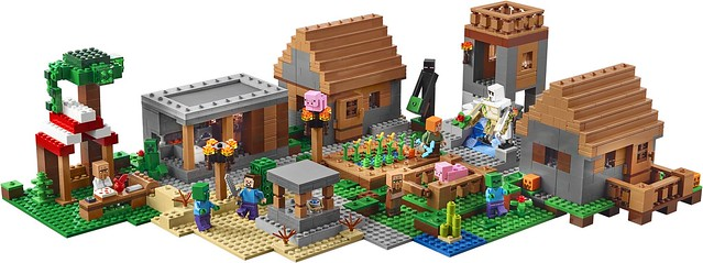 LEGO Minecraft 21128 The Village 03
