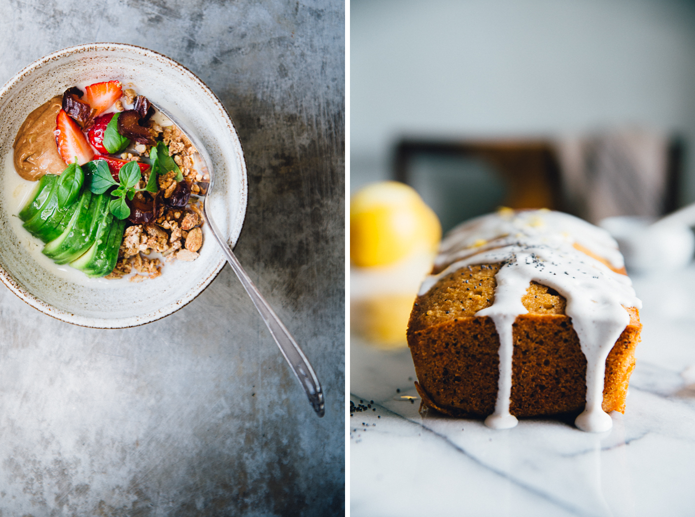 Olive Oil Buckwheat Granola + Almond lemon Cake | Cashew Kitchen