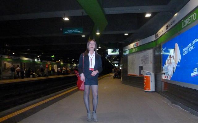 Milan - Loreto underground station
